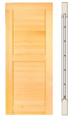 Fensterladen: Profilierte Leisten dicht oder mit Lichtschlitz